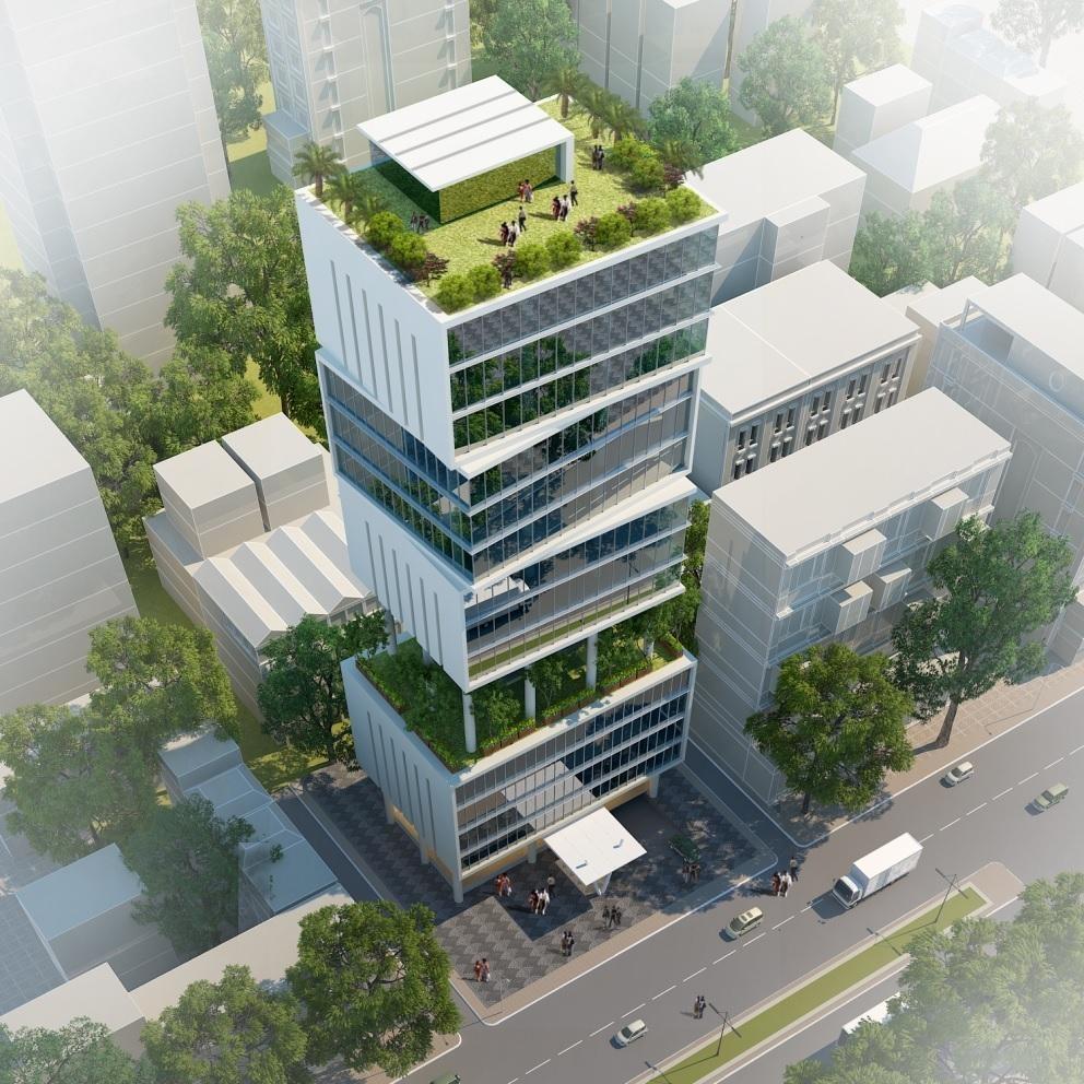 Trụ sở mới của Trung tâm Lưu ký chứng khoán Việt Nam đạt chứng chỉ chứng nhận công trình xanh Lotus. Dự án công đầu tiên đạt chứng nhận Lotus.