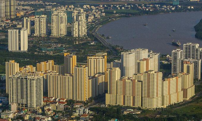 Thị trường nhà ở chung cư TP HCM. Ảnh: Quỳnh Trần
