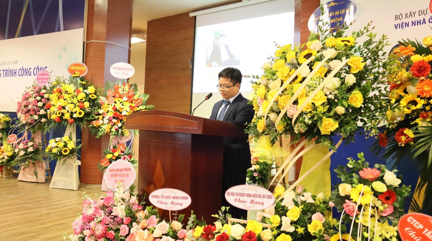 Ông Nguyễn Minh Đức - Giám đốc Viện Nhà ở & Công trình công cộng