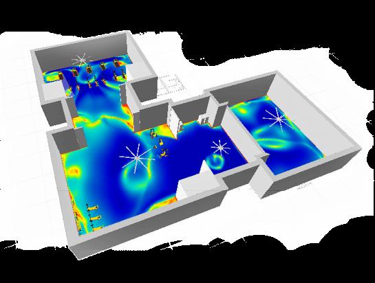 SpecLab giúp cho người dùng nhận biết hiệu suất luồng không khí di chuyển