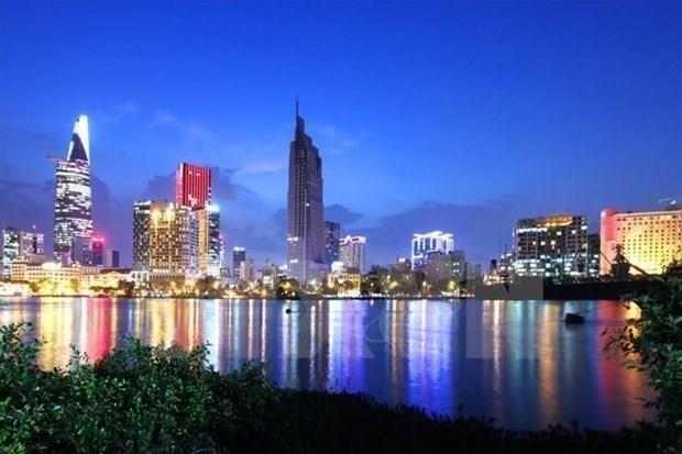 Một góc Thành phố Hồ Chí Minh. (Ảnh: TTXVN)