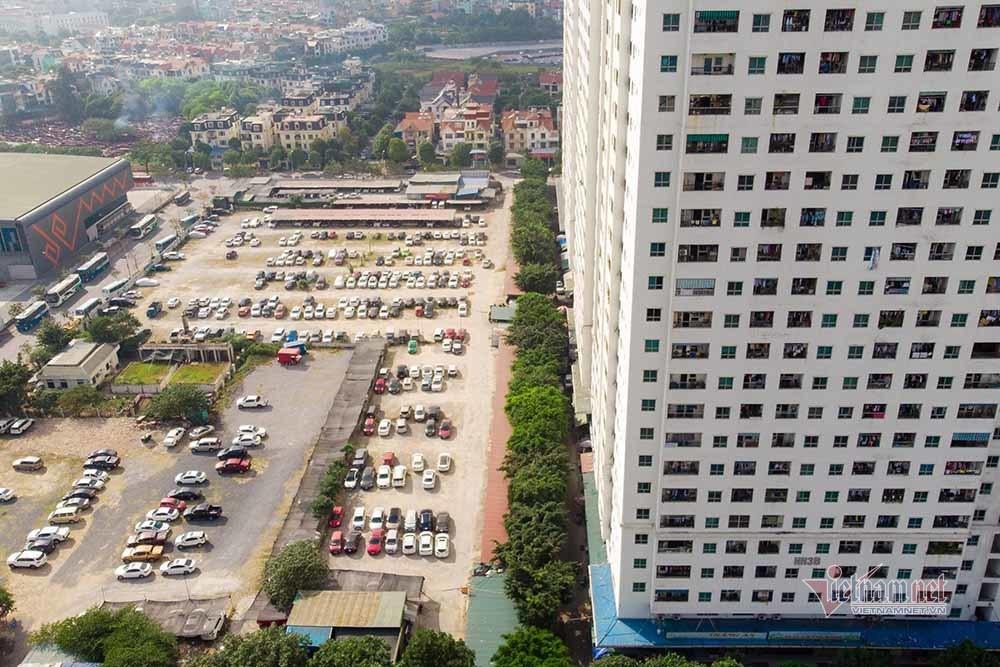 Chưa thể thực hiện các dự án bãi đỗ xe, nhiều bãi không phép với sức chứa hàng trăm xe mọc lên