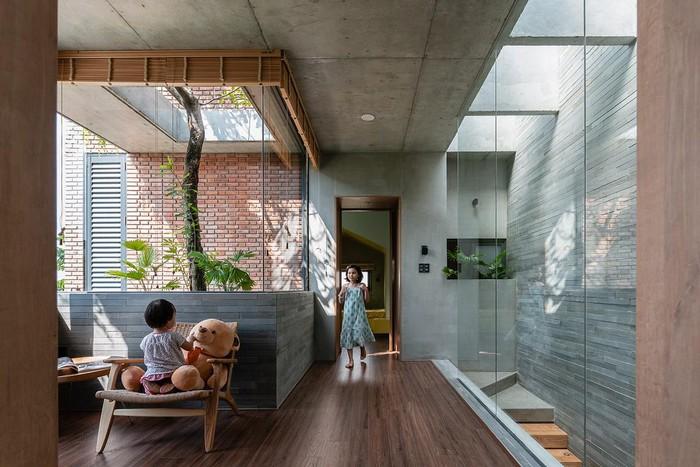 Chọn gạch xây không trát phù hợp với từng không gian giúp gia tăng tính thẩm mỹ cho tổng thể công trình nhà ở