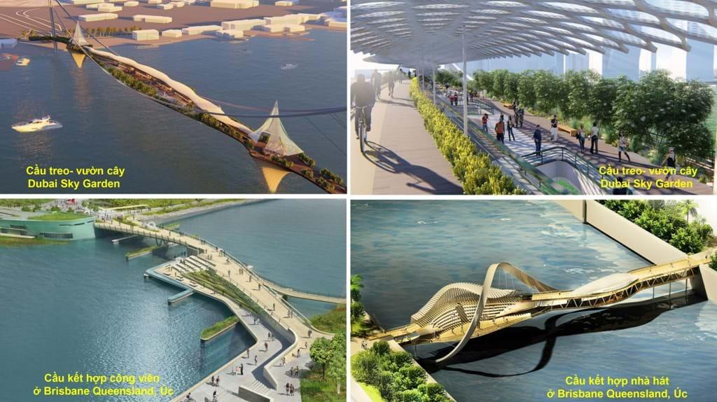 Cầu hiện đại thông minh tích hợp nhiều chức năng (Brisbane development)