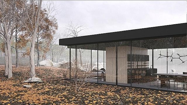 """Đây là ngôi nhà vô cùng lạ lùng có tên """"Lost House"""" do kiến trúc sư Gotvyansky, người Ukraine lên ý tưởng. Nhìn bên ngoài, công trình không quá ấn tượng, nhưng bên trong lại ẩn chứa những điều bất ngờ."""