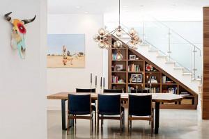 10 ý tưởng cho không gian dưới cầu thang