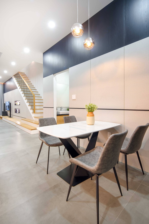 Bàn ghế ăn mang phong cách tối giản