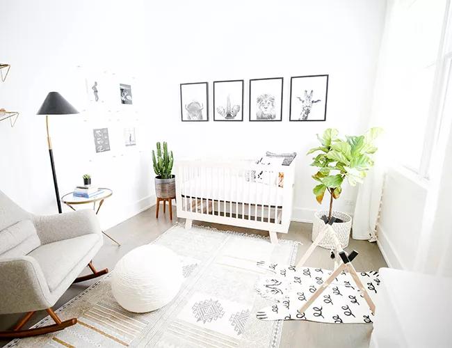 Sáng sủa và rộng rãi, mang đến phong cách tối giản căn phòng