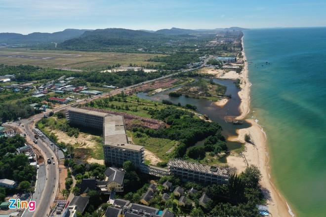 Thị trường bất động sản Phú Quốc nóng trở lại sau thông tin Phú Quốc lên thành phố. Ảnh: Quỳnh Danh