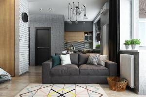 Thiết kế căn hộ nhỏ hơn 50m2 (P2)