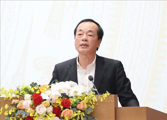 Bộ trưởng Bộ Xây Dựng Trần Hồng Hà. Ảnh: Thống Nhất/TTXVN
