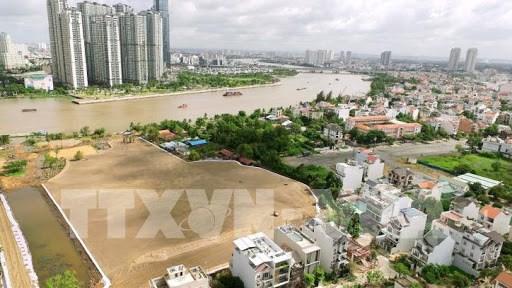 Việc quy hoạch tại Tp. Hồ Chí Minh đã đạt nhiều kết quả góp phần hình thành một đô thị phát triển năng động, sáng tạo. Ảnh minh họa: TTXVN