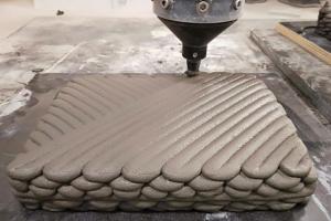 Phát triển loại bê tông in 3D kết cấu giống vỏ tôm hùm
