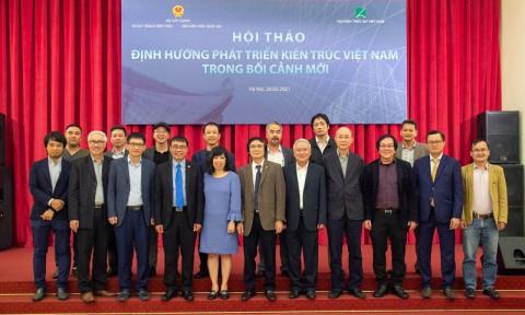 Định hướng phát triển kiến trúc Việt Nam trong bối cảnh mới