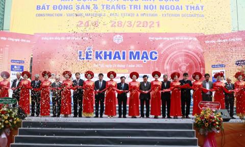 Khai mạc Triển lãm quốc tế VIETBUILD Hà Nội 2021