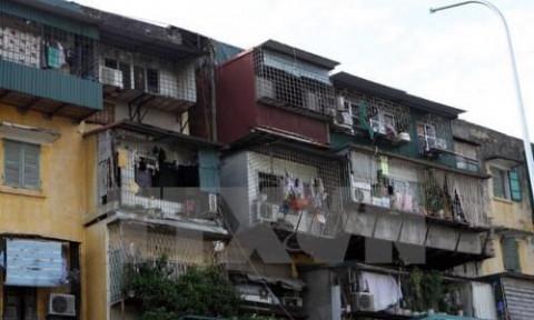 Hà Nội sẽ xây dựng đề án tổng thể về cải tạo chung cư cũ
