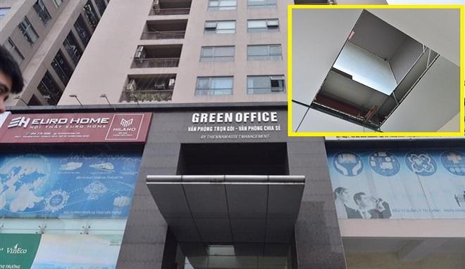 Tòa nhà Meco Complex nơi xảy ra vụ việc