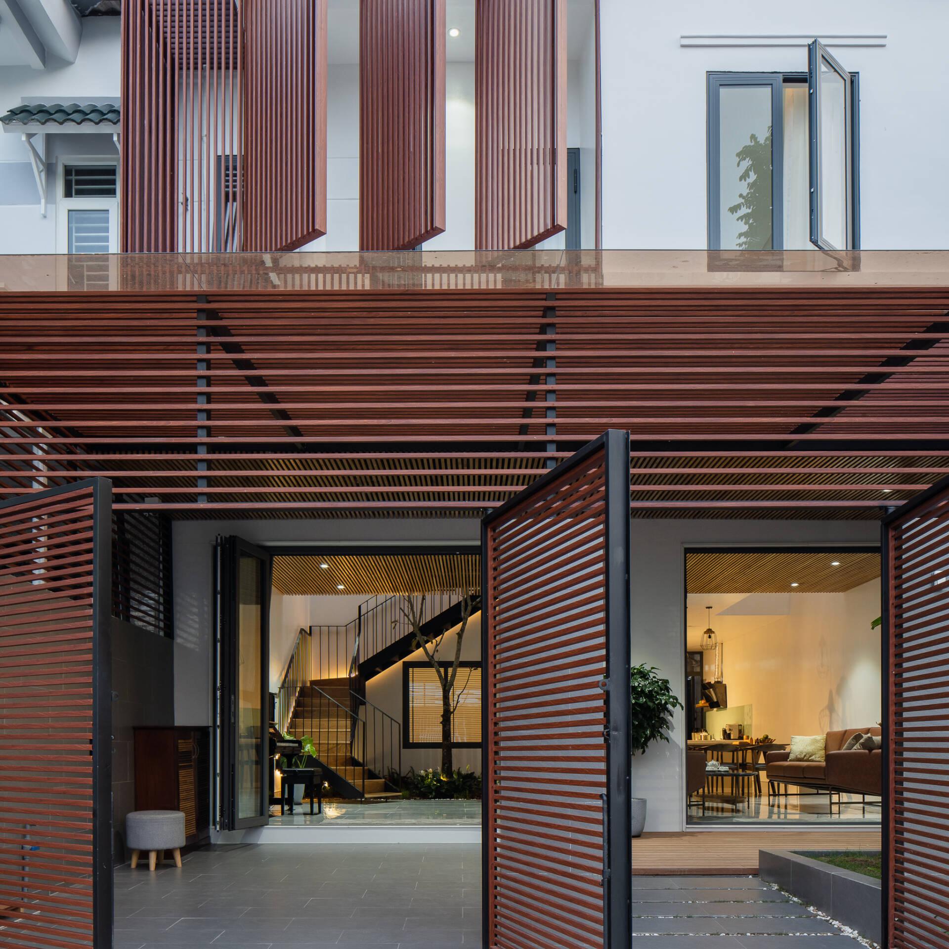 Lam gỗ mang lại diện mạo mới mẻ hơn cho căn nhà