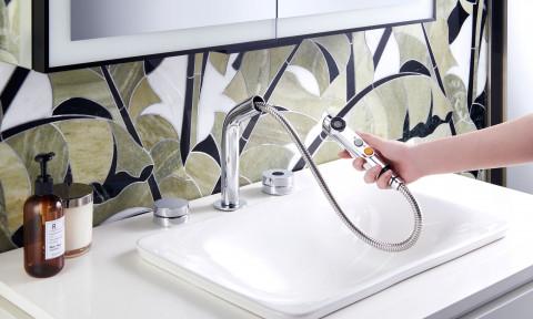 Nâng tầm trải nghiệm sống trong không gian phòng tắm và bếp cùng công nghệ không chạm từ Kohler