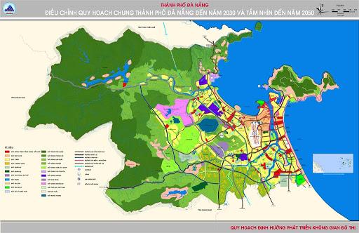 Thủ tướng Chính phủ phê duyệt Điều chỉnh quy hoạch chung thành phố Đà Nẵng đến năm 2030, tầm nhìn đến năm 2045