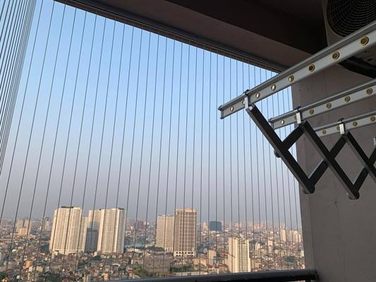 Cần phải có tiêu chí về lưới an toàn tại nhà chung cư, nhà ở