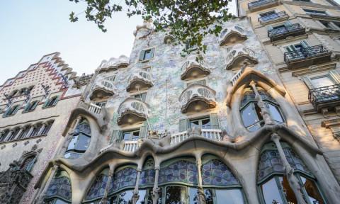 Top 5 tác phẩm của Antoni Gaudi