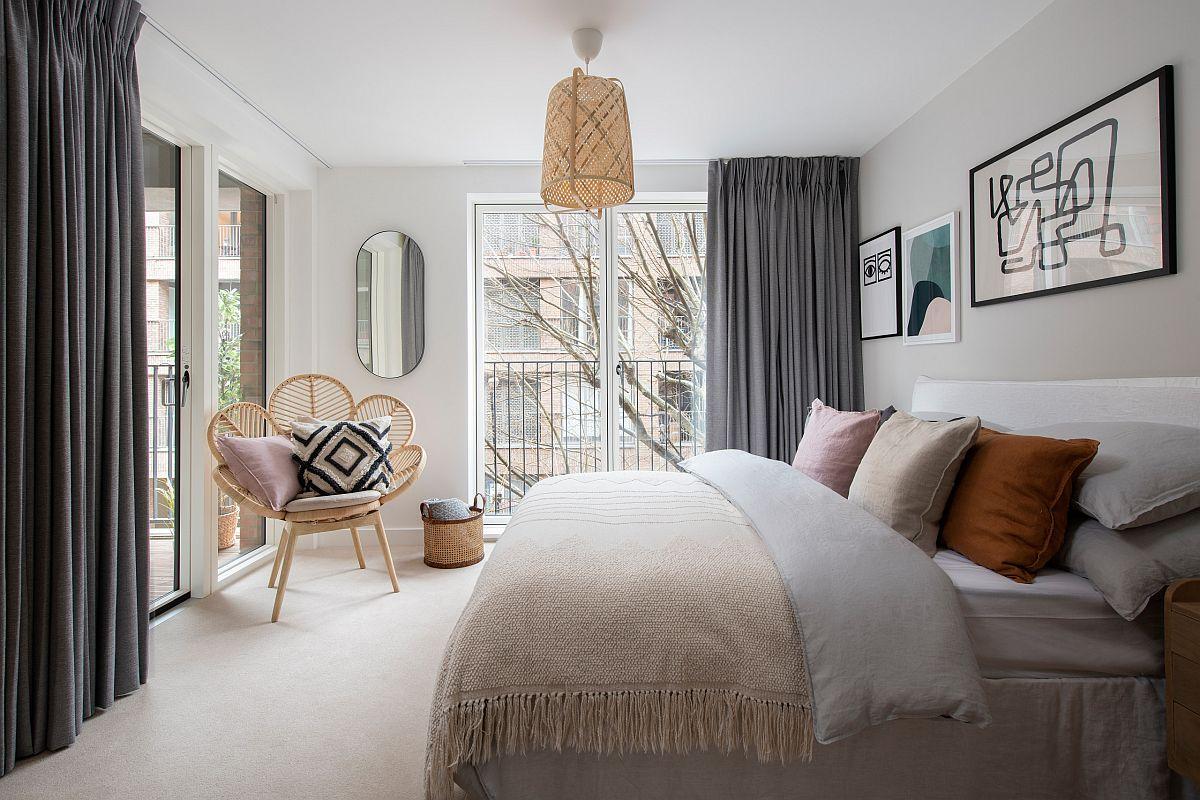 Tạo một phòng ngủ thư giãn và sảng khoái với phong cách Scandinavian hiện đại