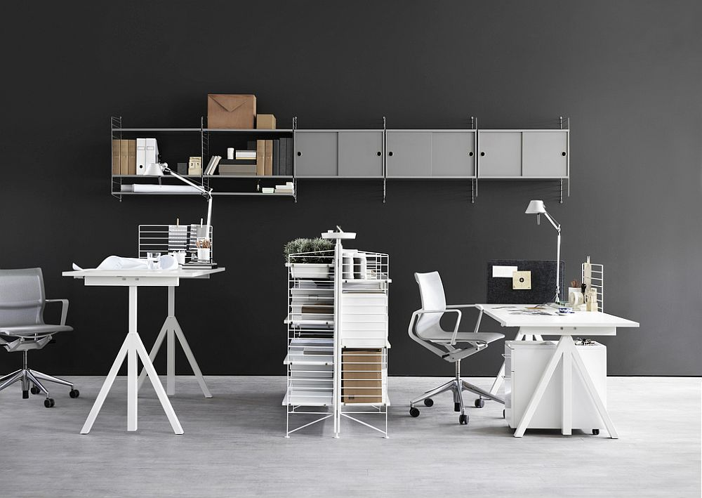 Easy-to-use-sit-stand-desks-coupled-with-string-shelving-system-create-fabulous-office-space-compositions-13392