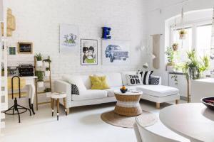 15 phòng khách nhỏ với phong cách tối giản (P1)