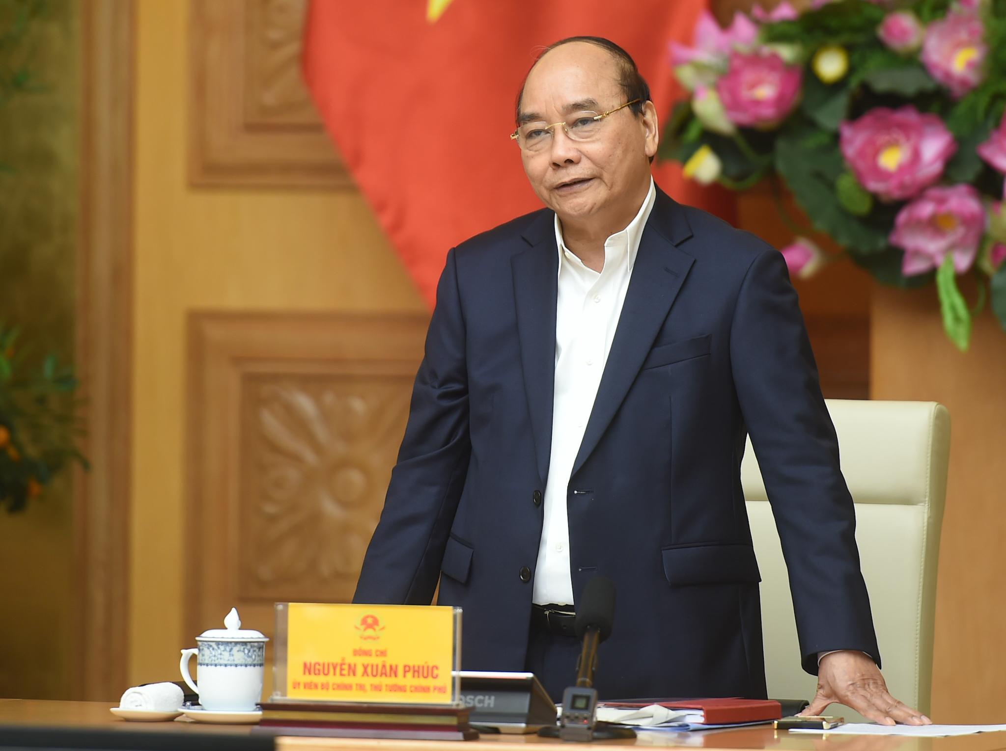 Thủ tướng Nguyễn Xuân Phúc: Phải chống lợi ích nhóm, tiêu cực trong điều chỉnh quy hoạch - Ảnh: VGP/Quang Hiếu