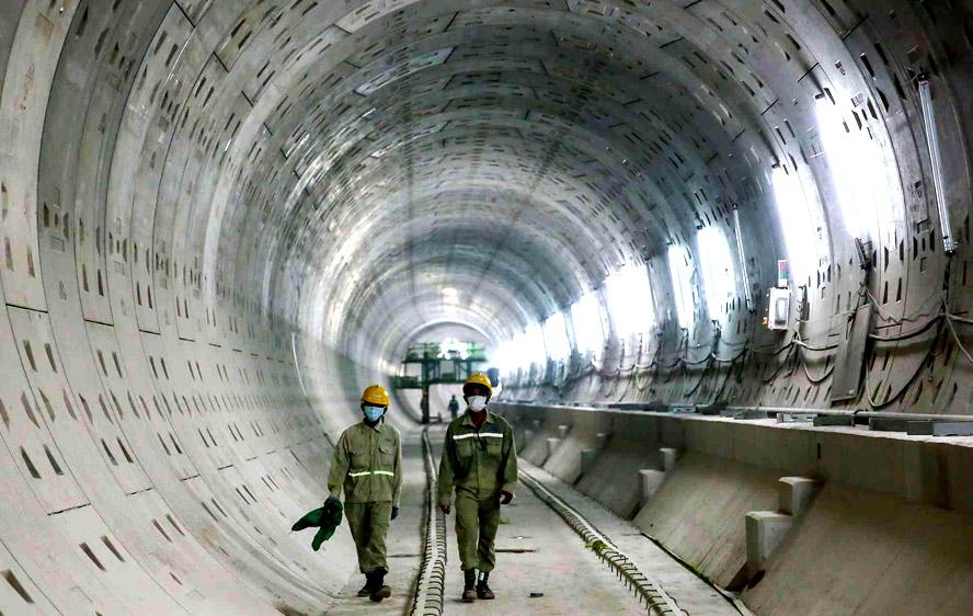"""Hệ thống tàu điện ngầm sẽ là """"xương sống"""" trong quy hoạch phát triển không gian ngầm trên địa bàn thành phố Hồ Chí Minh"""