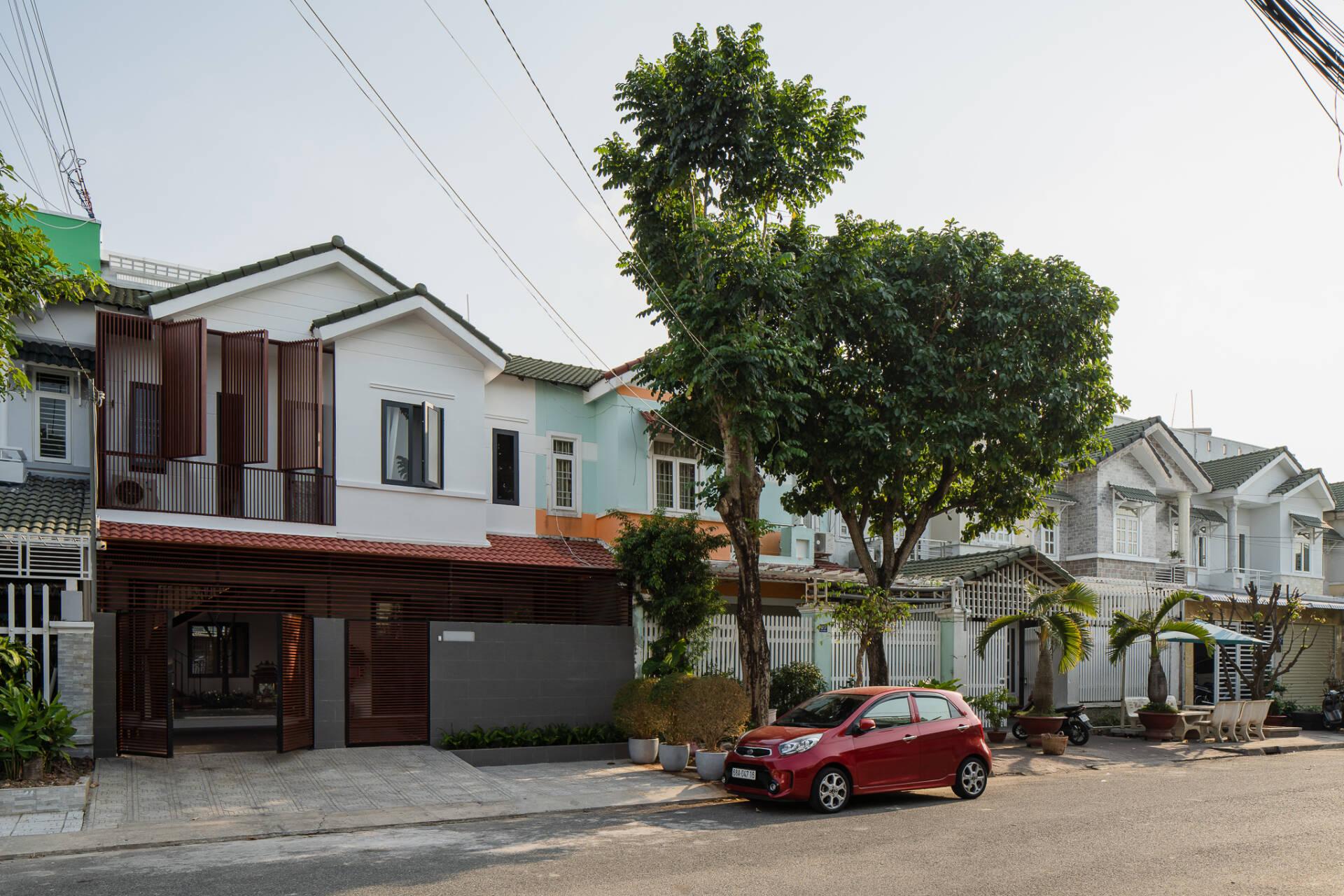 KG House là dạng nhà phố với chiều cao, mặt tiền phải theo quy định chung