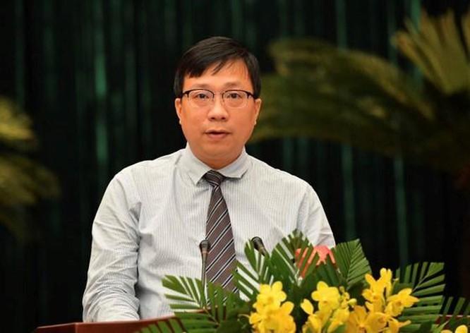 Ông Nguyễn Thanh Nhã - Giám đốc Sở Quy hoạch Kiến trúc TP.HCM (Ảnh Việt Dũng)