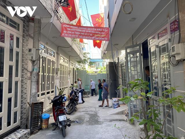 Khu nhà ba chung của các hộ dân ở khu phố 3, phường Thạnh Xuân, Quận 12