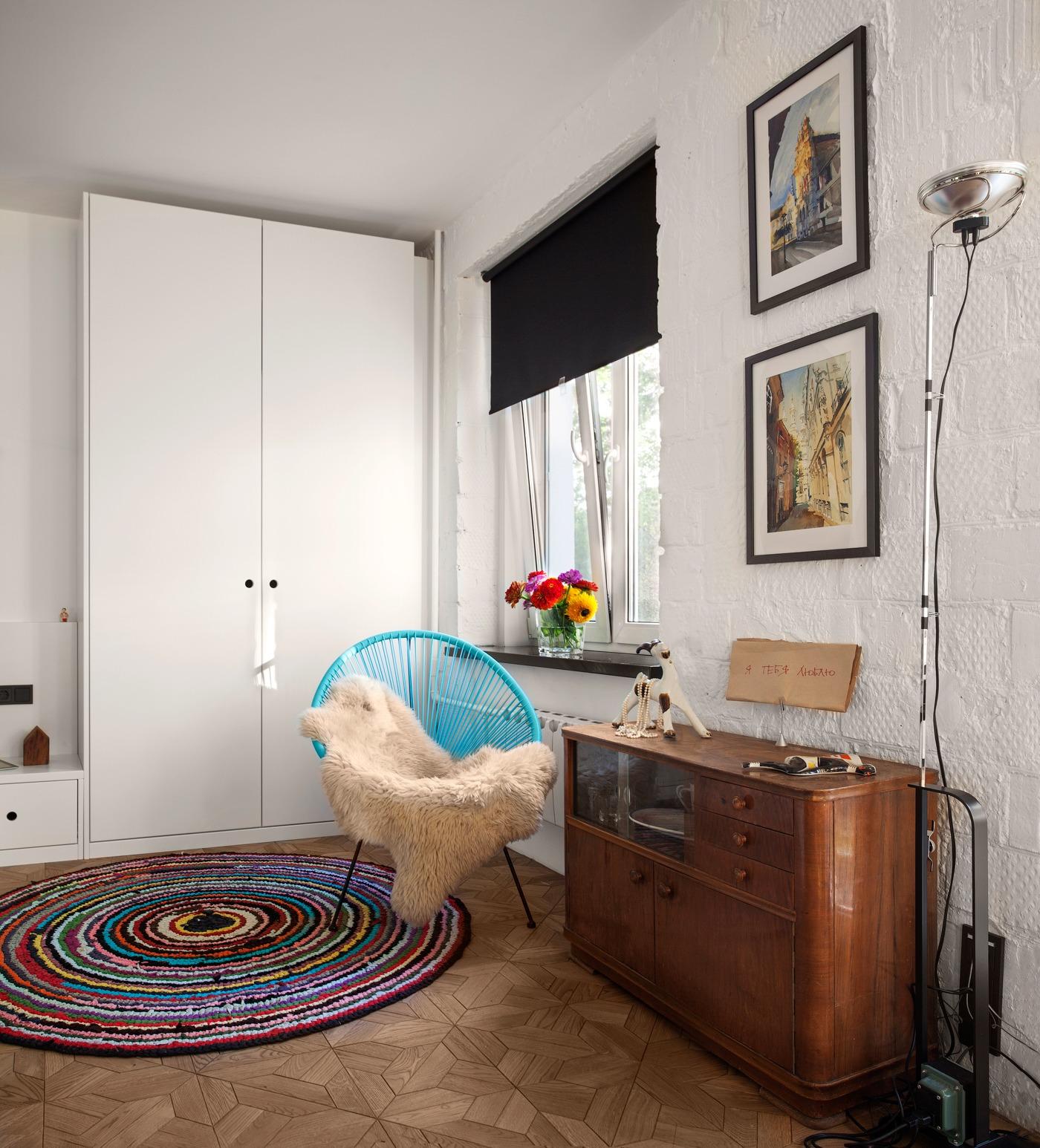Các chi tiết được chăm chút tỉ mỉ khiến căn hộ nhỏ trở nên ấm áp