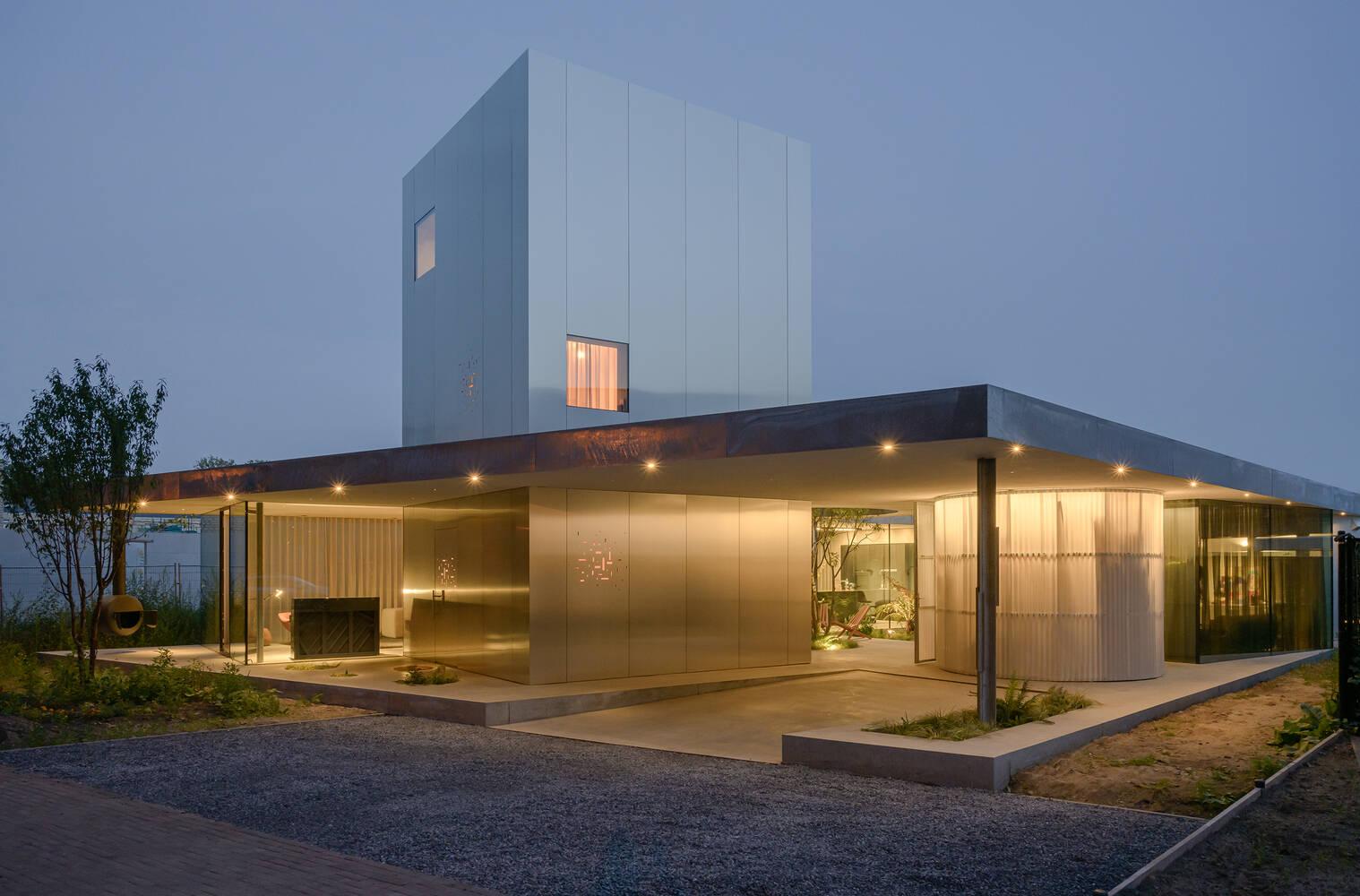 Chất liệu và kiến trúc làm nên diện mạo đẹp ấn tượng của công trình