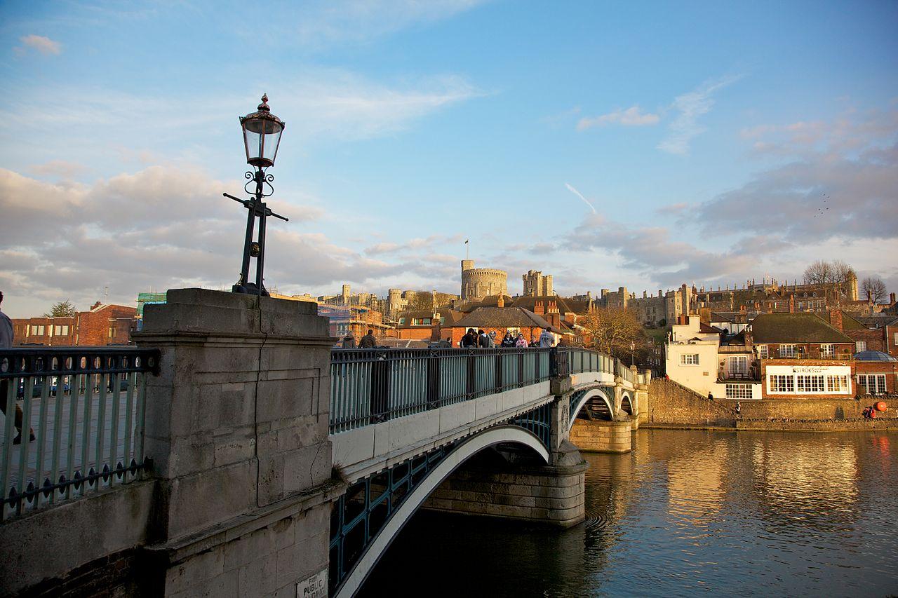Khung cảnh thị trấn Windsor và Tháp tròn. (Ảnh: Aurelien Guichard - Wikimedia Commons)
