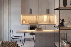 Thiết kế căn hộ nhỏ hơn 50m2 (P4)