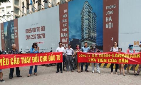 Thanh tra Bộ Xây dựng yêu cầu 15 chủ đầu tư tại Hà Nội trả lại phí bảo trì chung cư