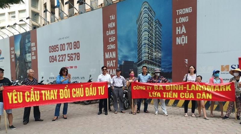 15 dự án chung cư trên địa bàn TP Hà Nội có khiếu nại gay gắt đã được Thanh tra Bộ Xây dựng tiến hành kiểm tra, xử lý. (Ảnh: Doãn Thành)