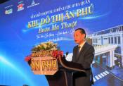 Công ty Cổ phần Đầu tư – Phát triển đô thị Ân Phú tổ chức Lễ ký kết ba bên phân phối dự án khu đô thị Ân Phú