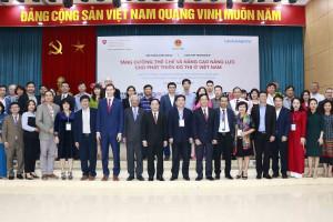 """Khởi động Dự án """"Tăng cường thể chế và nâng cao năng lực cho phát triển đô thị ở Việt Nam"""""""