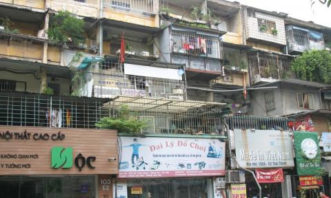 Giải pháp đẩy nhanh tiến độ cải tạo chung cư cũ tại Hà Nội