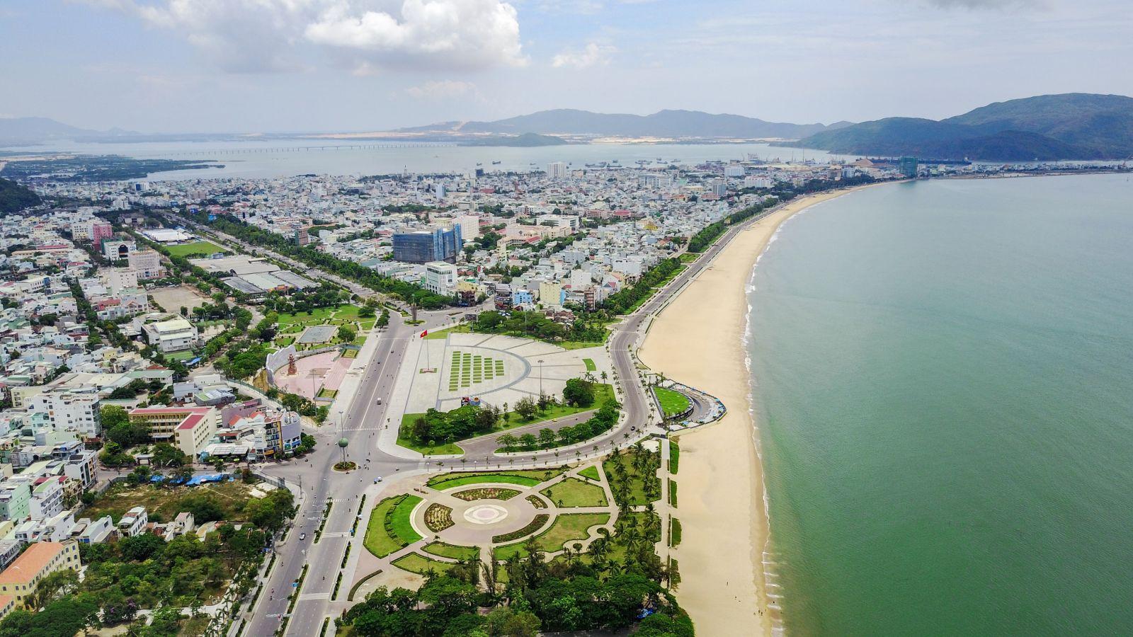 Quy Nhơn đã có bước đầu phát triển đúng hướng của một đô thị biển