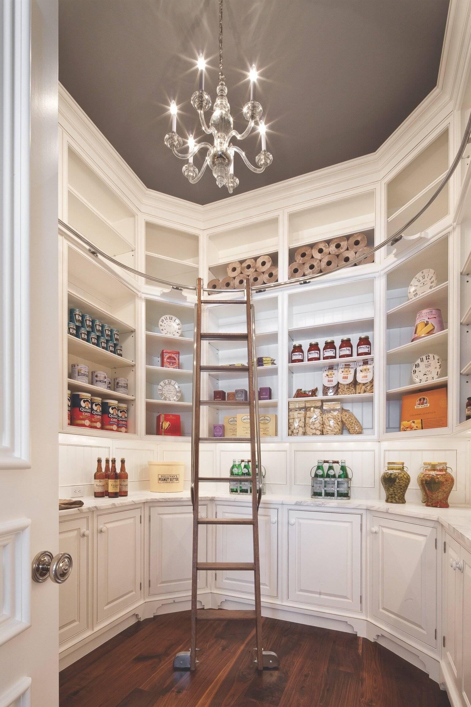 Nhà bếp mang phong cách thư viện