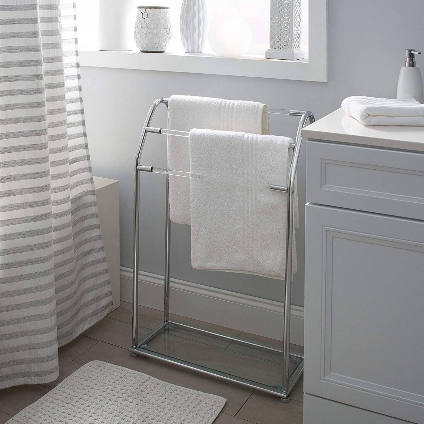 Stainless-Steel-Towel-Stand-36305