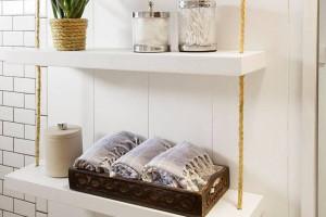 Ý tưởng lưu trữ khăn tắm thông minh và sang trọng (P2)