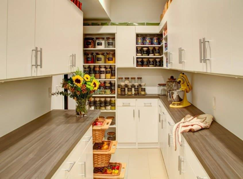 Walk-in-pantry-with-cabinets-and-sliding-drawers-83910