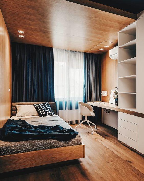 Căn phòng theo phong cách tối giản táo bạo