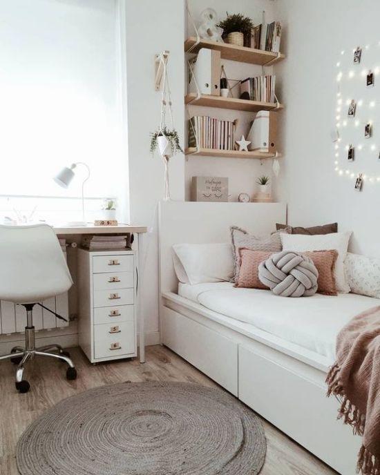Căn phòng với phong cách trung tính